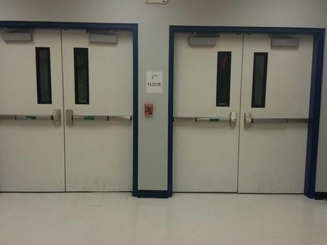 Door Installation Services : Metal door installation stamford ct vanbaur framing