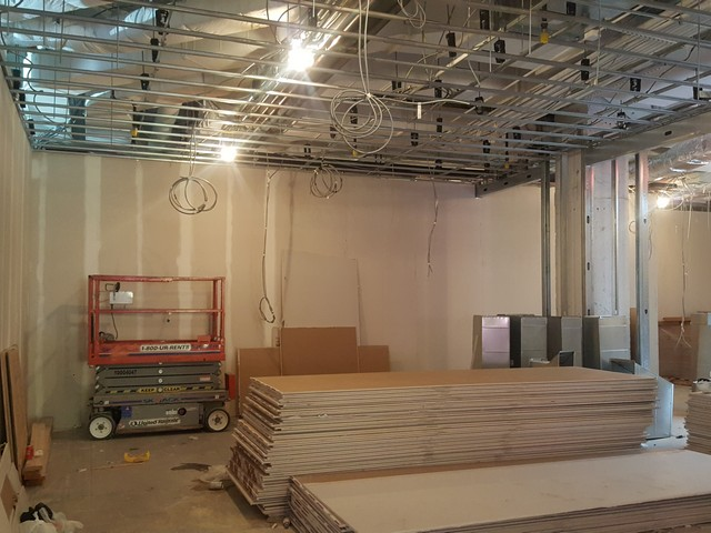 Commercial Drywall and Metal Framing Contractors serving CT and NY